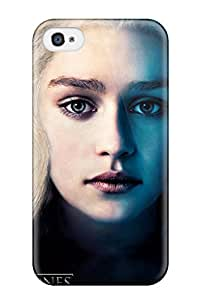Excellent Iphone 4/4s Case Tpu Cover Back Skin Protector Emilia Clarke Game Of Thrones Season 3