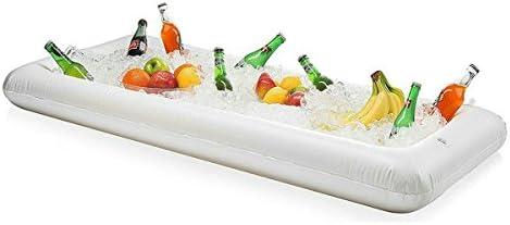 Barra hinchable para servir hielo, ensalada, buffet bandeja ...