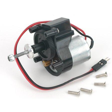 E-Flite 370 Motor & Gearbox (V2), 5.33: 1 .4 Module