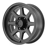 xd 17 inch rims 6 lug - XD Series by KMC Wheels XD301 Turbine Satin Black Wheel (16x8