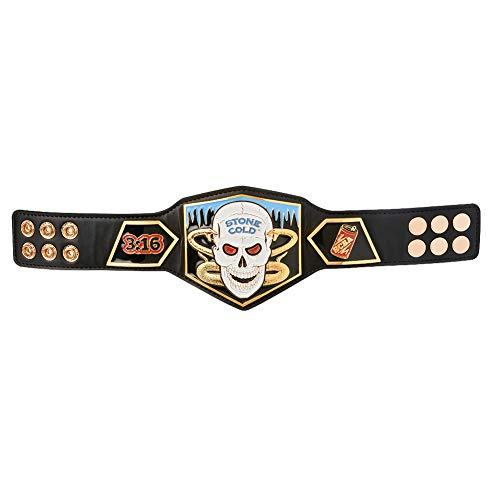 Austin Championship Mini Replica Title Belt Black ()