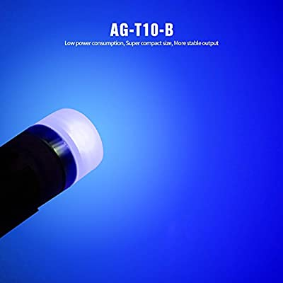SIRIUSLED AG Super Bright 300 Lumen Ultra Compact LED Interior Light Bulb Size 168 175 194 2825 Pack of 4 Color Blue: Automotive