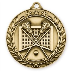 Engraved Lacrosse Medals (3-Pack)