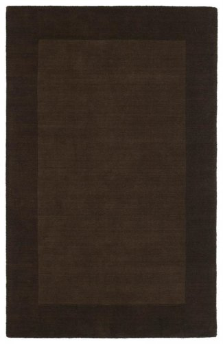8' x 10' Rectangular Kaleen Area Rug 7000-49-810 Various Light and Dark Tones of Chocolate 49 Color Hand Tufted in India