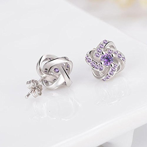 per amore promozione sempre gioielli orecchini Sterling Grande Crystal Stud orecchini elegante Fittingran Silver Stud 925 Ear donne donna gioielli 7d4AxPwxq