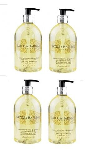 Price comparison product image Baylis & Harding SWEET MANDARIN & GRAPEFRUIT Hand Wash x 500ml by Baylis & Harding