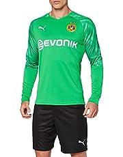 PUMA Mannen Bvb Ls Gk Shirt Replica met Evonik Logo zonder Opel Logo Doelman Jersey
