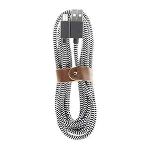 Native Union - BELT Cable XL Micro-USB - Zebra - BELT-MUSB-ZEB-3