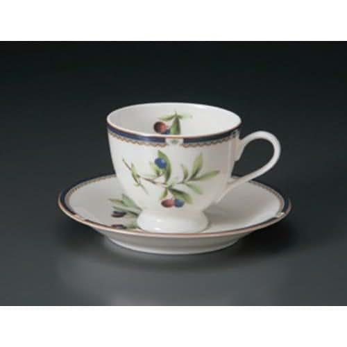 Cup And Saucer utw654-25-114 [4.4 x 3.3 x 2.8 inch 5.9 x 0.9 inch] Japanece ceramic NB Purun coffee C / S tableware