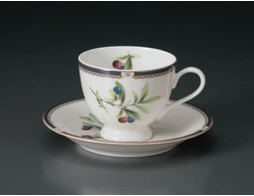 Cup And Saucer utw654-25-114 [4.4 x 3.3 x 2.8 inch 5.9 x 0.9 inch] Japanece ceramic NB Purun coffee C/S tableware