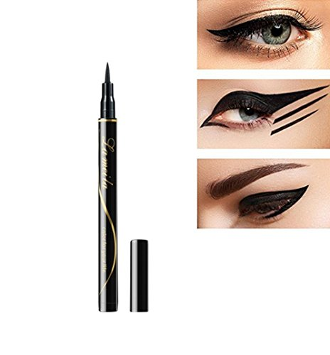 New Women Black Eye Liner Eyeliner Waterproof Make Eyeline Eyeline Makeup Tool -