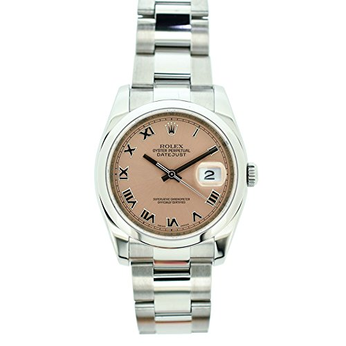 Rolex Datejust automatic-self-wind mens Watch 116200 (Certified Pre-owned) by Rolex (Image #5)