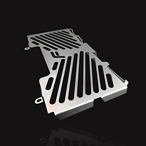 UltraSupplier Silver Aluminum Radiator Guard Cover Protector For BMW F800R F800S F700GS F650GS