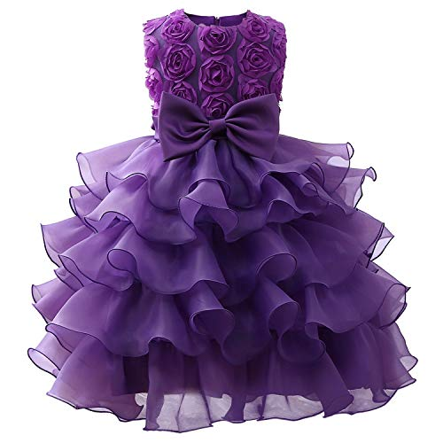Girl Dress Sleeveless Kid Dresses Girls Party Princess Birthday Dress,As Picture4,5 -
