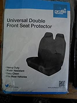 Grey Single Universal Front Seat Cover Protector Air Bag Compatible Double Single Black Grey Van Car