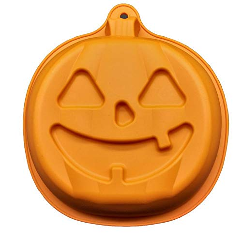 1 piece Halloween Style Pumpkin Silicone Cake Cookies DIY Fondant Baking Tools Molds for Halloween Special Holiday Party Supplies -