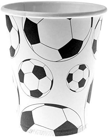 Chal – Vaso, diseño de balón de fútbol x20: Amazon.es: Hogar