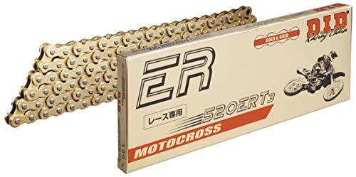 D.I.D 520ERT3 G&G X 120 520 ERT3 Series Exclusive Racing Chain - 120 Links - Gold