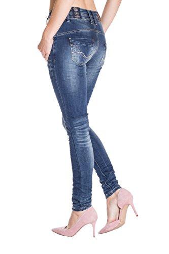 Uni Skinny Blue Jeans Femme Monkey Bleu Jeans wxpg1q