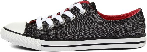 Dainty Donna Ox Converse Sneakers Nero As da bianco TPfnq6cW