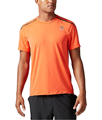 Men's Reebok ACTVChill Full Top, Orange, Small ()