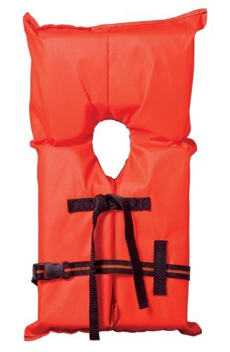 - USCG Approved Type II P.F.D YOUTH (50lbs-90lbs / 23kg-41kg) Orange
