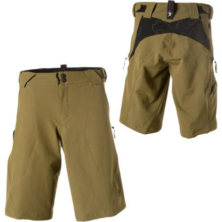 Royal F-Tech Ride Short, Olive, Small