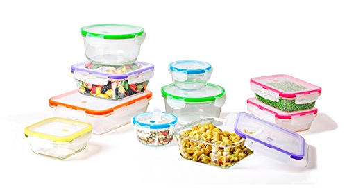 small glass locking containers - 2