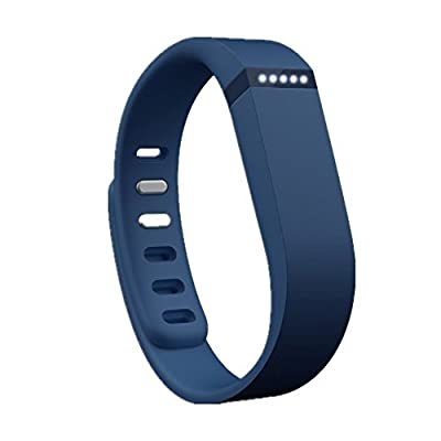 Dealzip Inc® Fitbit Flex Wristband Replacement Accessory,Navy Blue,Small