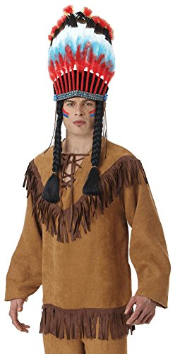 AMSCAN Day of the Native American Shirt forAdults -