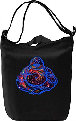Buddha Trippy Borsa Giornaliera Canvas Canvas Day Bag| 100% Premium Cotton Canvas| DTG Printing|