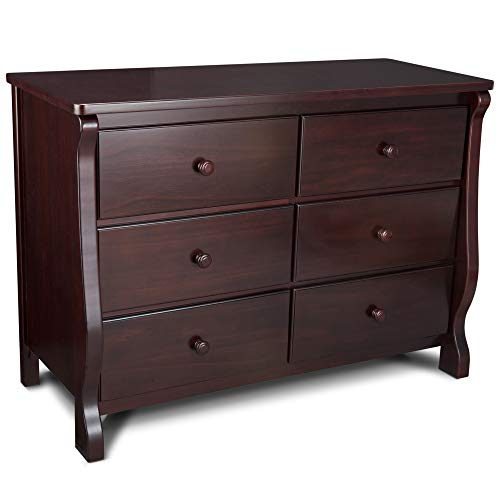 Delta Children Universal 6 Drawer Dresser, Espresso ()