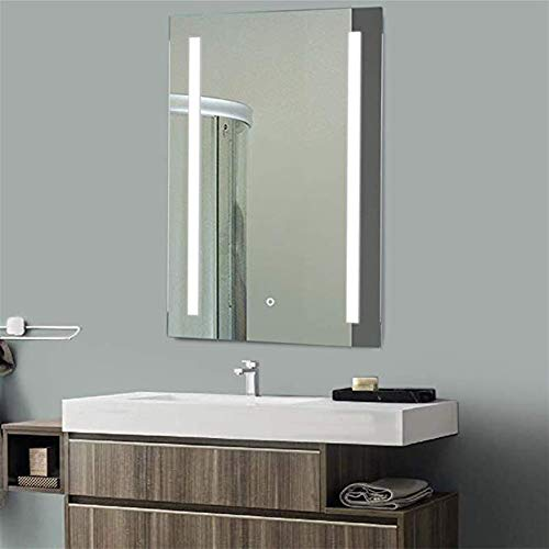 GT.S Modern LED Bathroom Mirror Cabinet with Touch Switch Demister Pad Shaver -