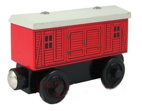 Red Baggage Car - Thomas & Friends Wooden Railway Tank Train Engine - Brand New - Railway Thomas Wooden Aquarium