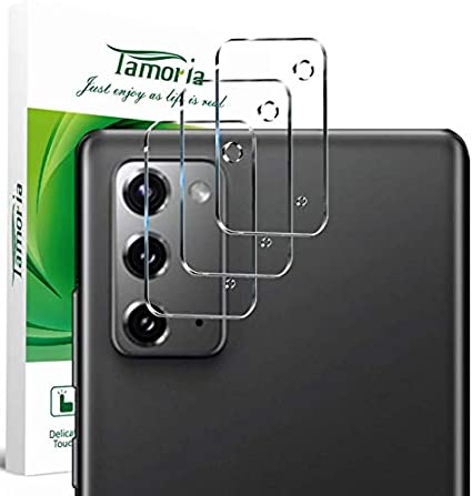 3 Pack Tamoria Galaxy Note 20 Ultra Camera Protector 9H Tempered Glass Clear Screen Protector Bubble Free Anti-Scratch Camera Lens Protector for Samsung Galaxy Note 20 Ultra 5G
