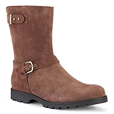 UGG Australia Women's Grandle,Western Brown Suede,US 12 M
