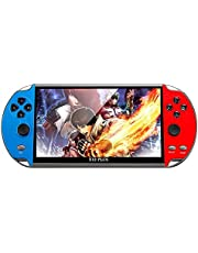 X12 Handheld Game Console 8G HD Color LCD Screen 3000 Games Kid Video Retro Portable Handheld Game Player on TV