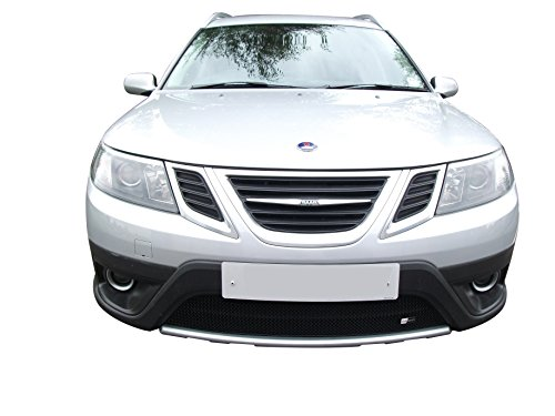 Zunsport Compatible with Saab 9-3X - Lower Grille - Black Finish (2009 to 2011) ()