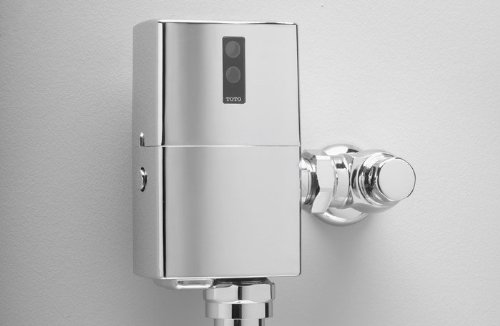 Toto TEU1GNB-12 EcoPower Urinal Flushometer Valve with 3/4-Inch Vacuum Breaker, Polished Brass by TOTO (Image #1)