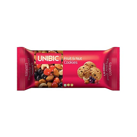 Unibic Fruit and Nut Cookies, 75g
