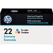HP 22 Tri-color Economy Original Ink Cartridge (B3B19AN)