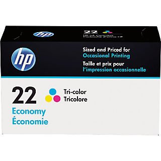 HP 22 Tri-color Economy Original Ink Cartridge (Hp Inkjet 3180 Fax)