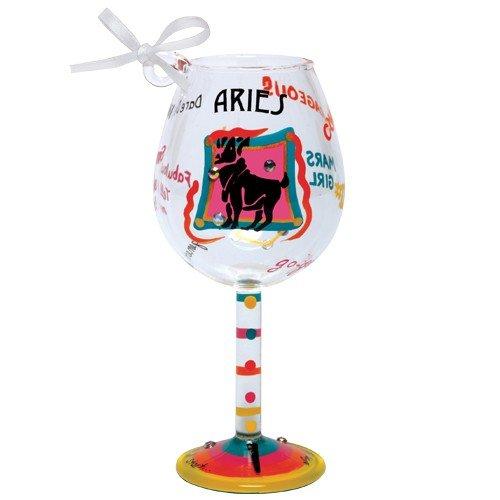 Santa Barbara Design Studio Lolita Holiday Mini-Wine Ornament, Aries