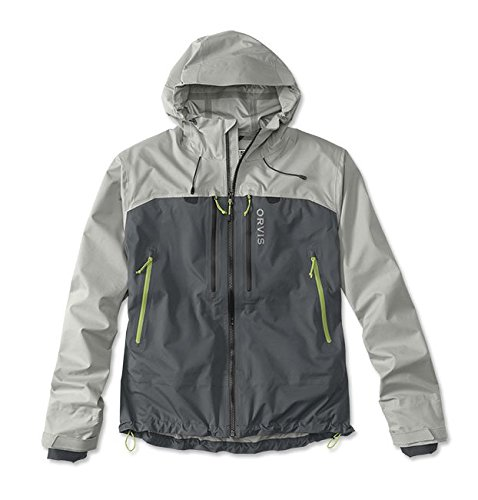 Orvis Men's Ultralight Wading Jacket, Alloy/Ash, Large ()