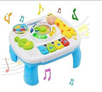 Toy Mesa de Actividades de Aprendizaje Juguete Musical 2 en 1 ...