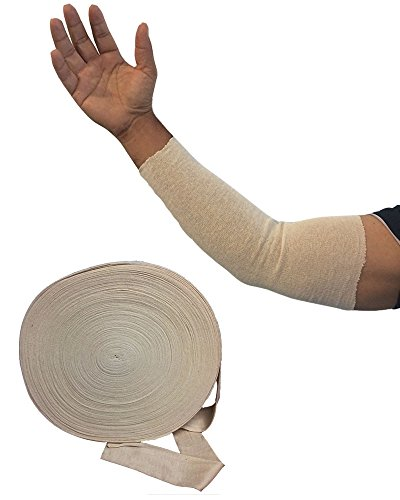 Cut Your Own Medical Splint/Cast Cotton Stockinette Tube Sleeve 100 Yard (Roll Cotton Stockinette)