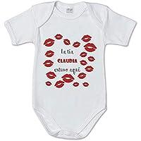 AR Regalos Body bebé Personalizado La tía [Nombre]
