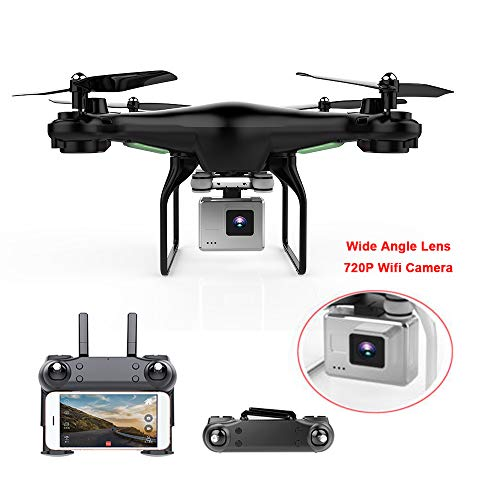 Quadcopter, Upgrate New Drone with Camera 720P HD Hover Helikopter Dron RC Drone Full hd Camera Drone Professional ()