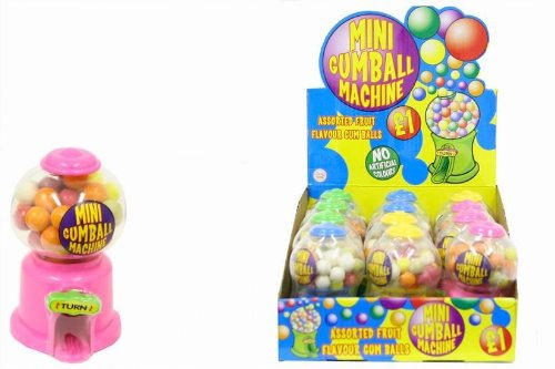 Party Savvy Mini máquina de Gumball - Diversión Dulces Dispensador