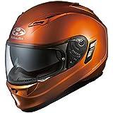 オージーケーカブト(OGK KABUTO)バイクヘルメット フルフェイス KAMUI2 シャイニーオレンジ (サイズ:S)